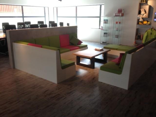Luxe bedrijfsruimte door Woodstack Breda